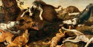 SPECIALISATION: Hunting scene and animal painting