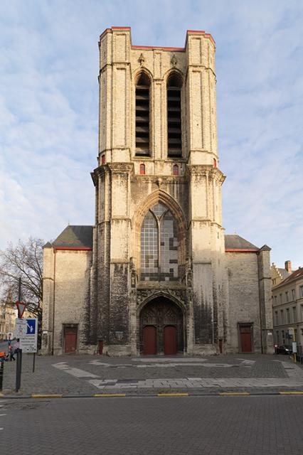 Saint Michael's Church Ghent