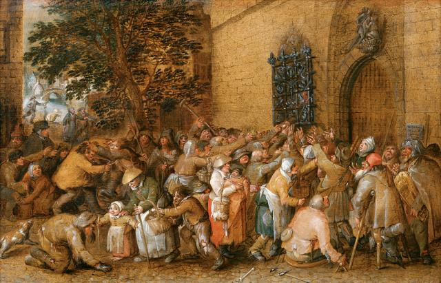 Distribution of Loaves to the Poor