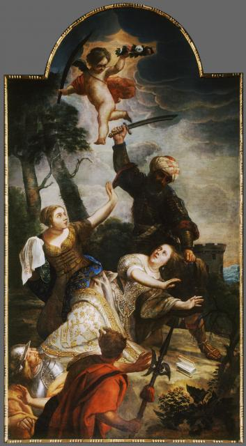 The martyrdom of the Holy Barbara