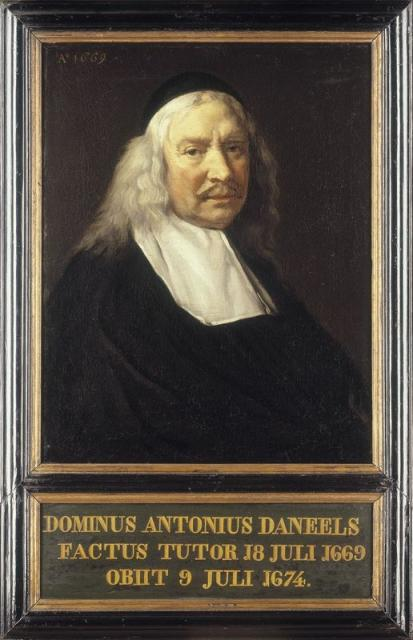 Portrait of Antonius Daneels (+1674)
