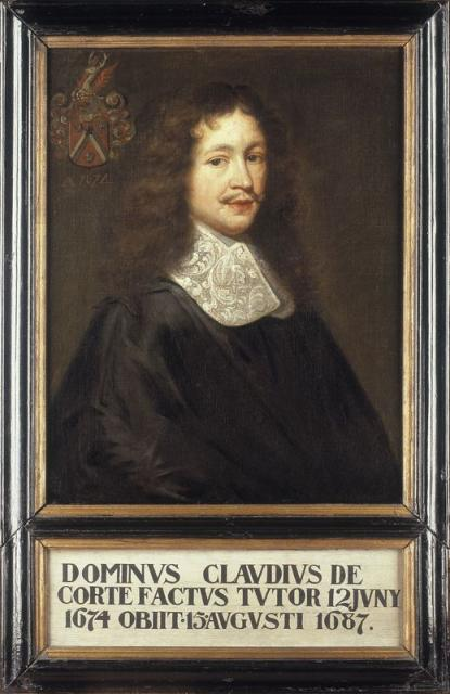 Portrait of Claude de Corte (+1687)
