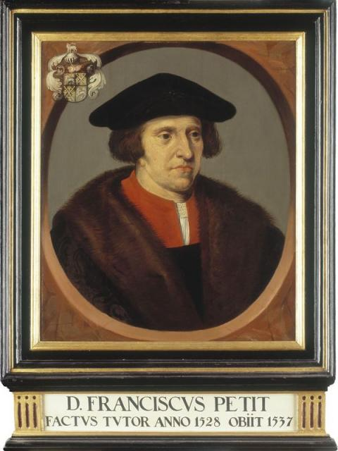 Guardian portrait of F. Petijt