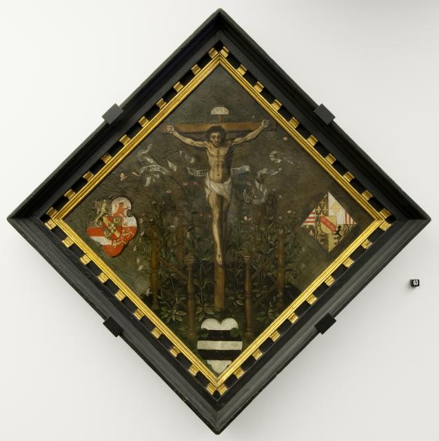 Escutcheon of the Diest Chamber of Rhetoric 'de Christus-Ogen'