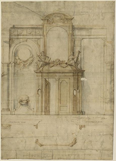 Design for a church porch