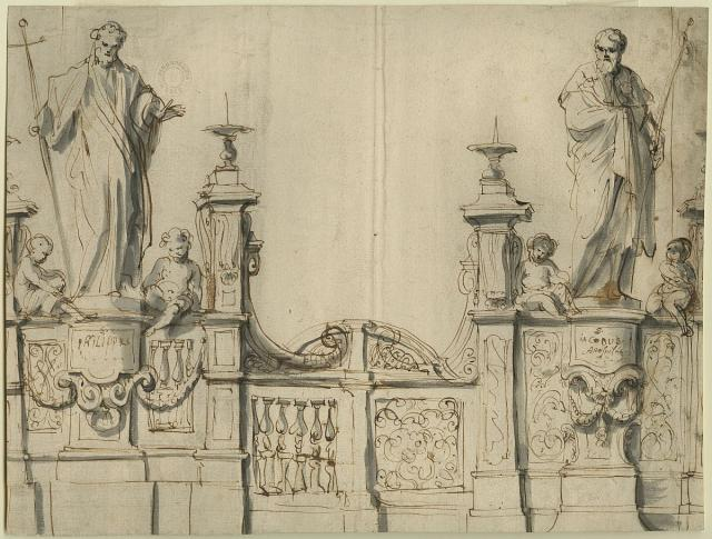 Design for the gateway to the ambulatory in St James' Church
