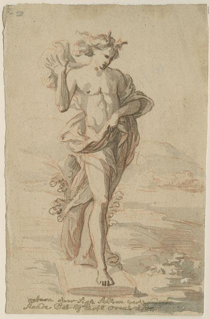 Design for a statue of Actaeon