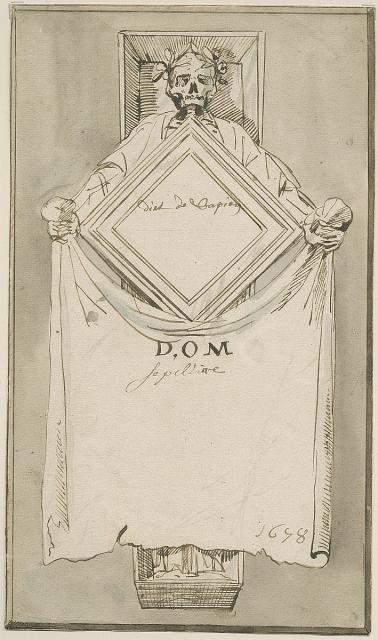 Design for a grave monument