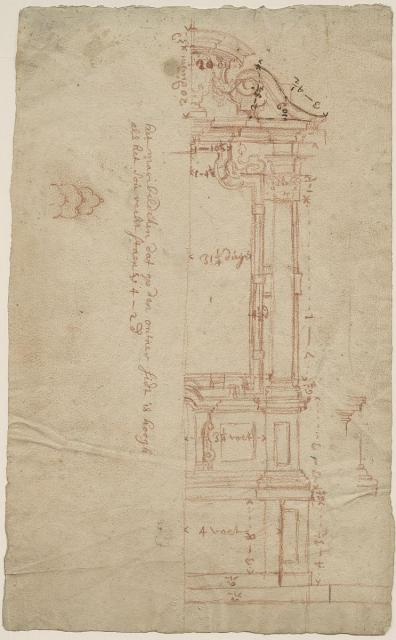 Design for the altar of the Chapel of the Resurrection in St James' Church