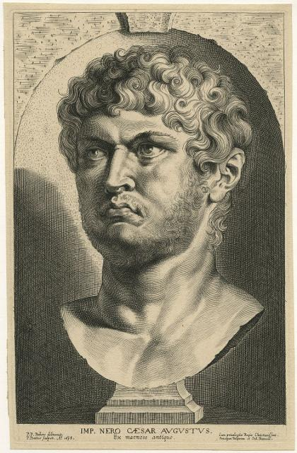 Head of the Roman emperor Nero