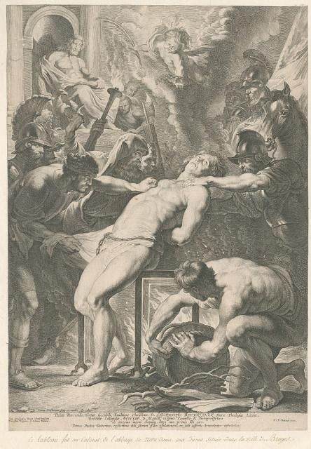 The Martyrdom of St Laurence