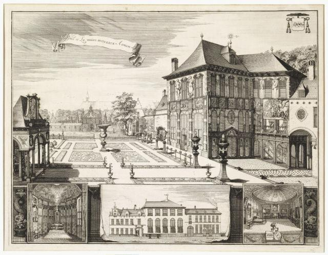 The Rubens House in Antwerp, 1692