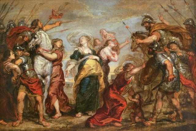 The Reconciliation of the Sabines and Romans