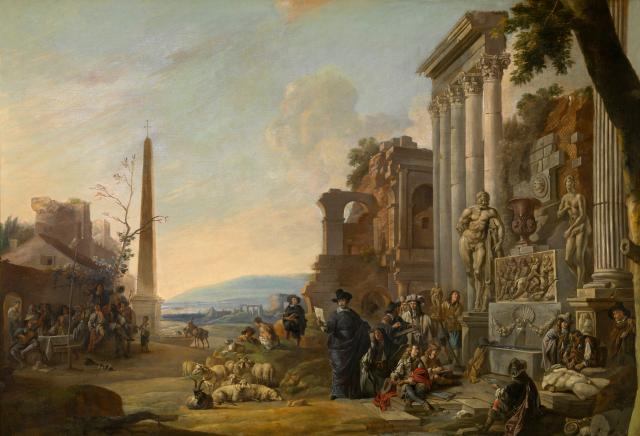 The Study of  Art at Rome