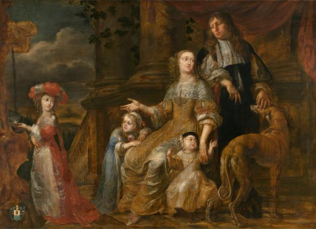 Portrait of the Family de Bie