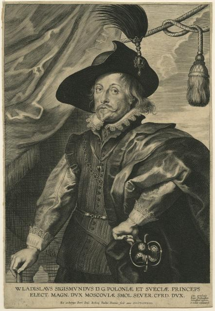 Portrait of Wladislaus Sigismond, Prince of Poland and Sweden