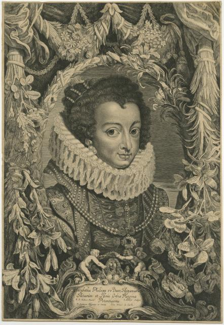 Elizabeth of Bourbon, wife of Philip IV