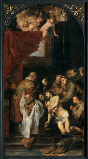The Last Communion of Francis of Assisi