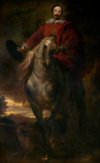 Equestrial Portrait of the Painter Cornelis de Wael
