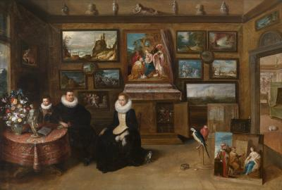 "Frans Francken II, The Collection of paintings ""of Sebastiaan Leerse"", Royal Museum of Fine Arts, Antwerp."