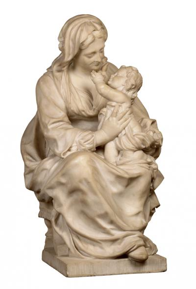 Madonna with the infant Jesus