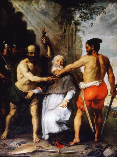 The Martyrdom of Saint Livinus