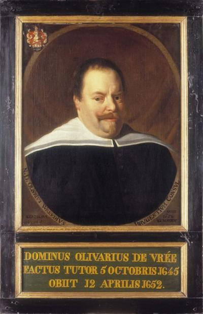 Portrait of Olivarius de Wree (°1596 - +1652)