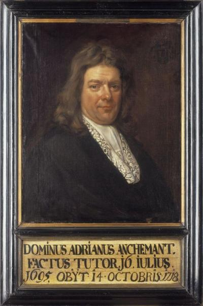 Portrait of Adriaan Anchemant (°1640 - +1718)