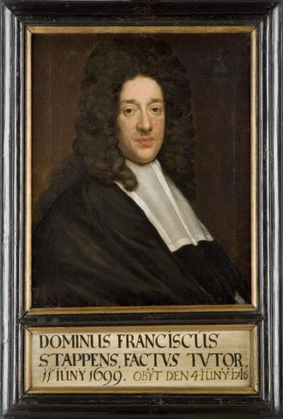 Portrait of Frans Stappens