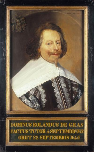 Portrait of Roeland de Grass (+1645)