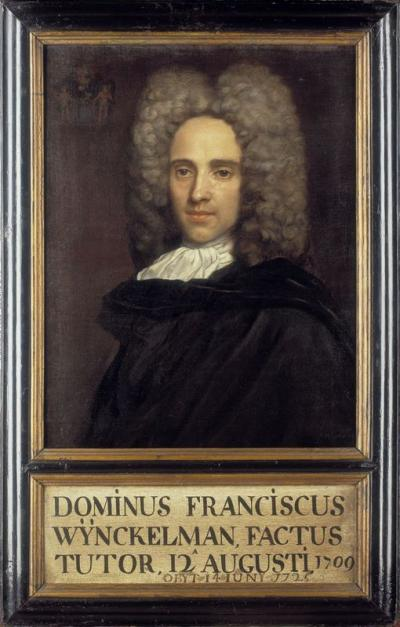 Portrait of Frans Wynckelman (+1725)