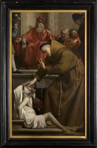 Saint Antony raising a Man from the Dead
