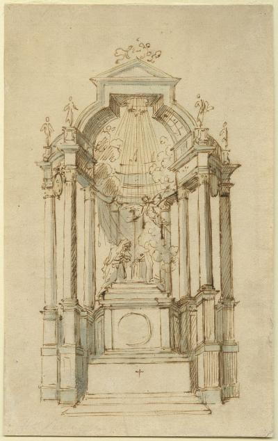 Design for the high altar at the abbey church in Tongerlo