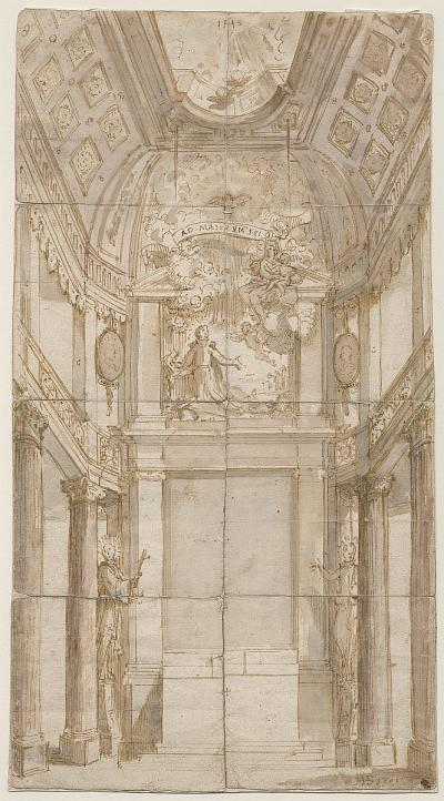 Design for a high altar for the Jesuits in Utrecht