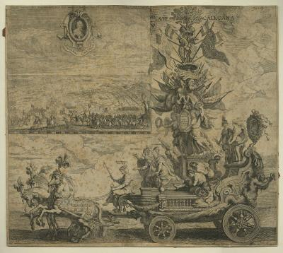 Triumphal Chariot in honour of the Glorious Entrance of Cardinal-infant Ferdinand in Antwerp