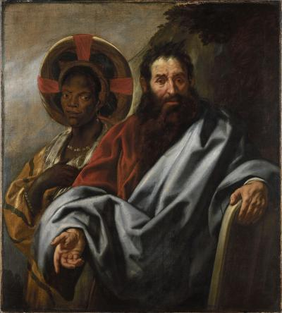 Moses and his Ethiopian wife Zipporah