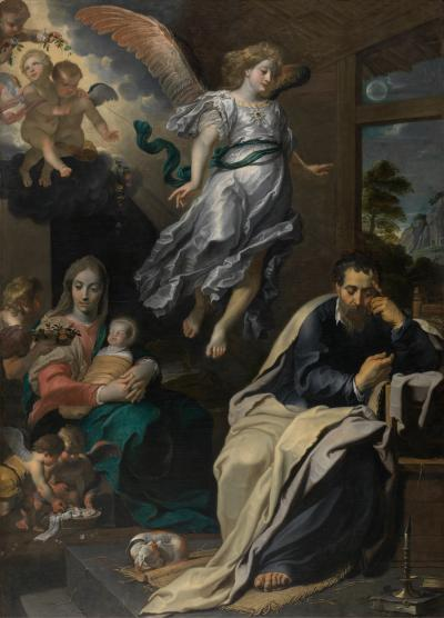 The dream of Saint Joseph