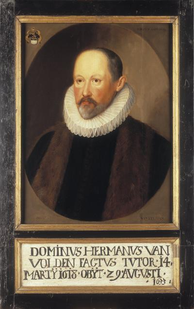 Portrait of Herman Van Volden