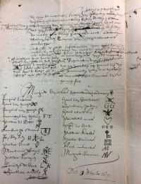 Petition of the Antwerp panelmakers (13 November 1617). Antwerp City Archives, Guilds and Trades, 4346