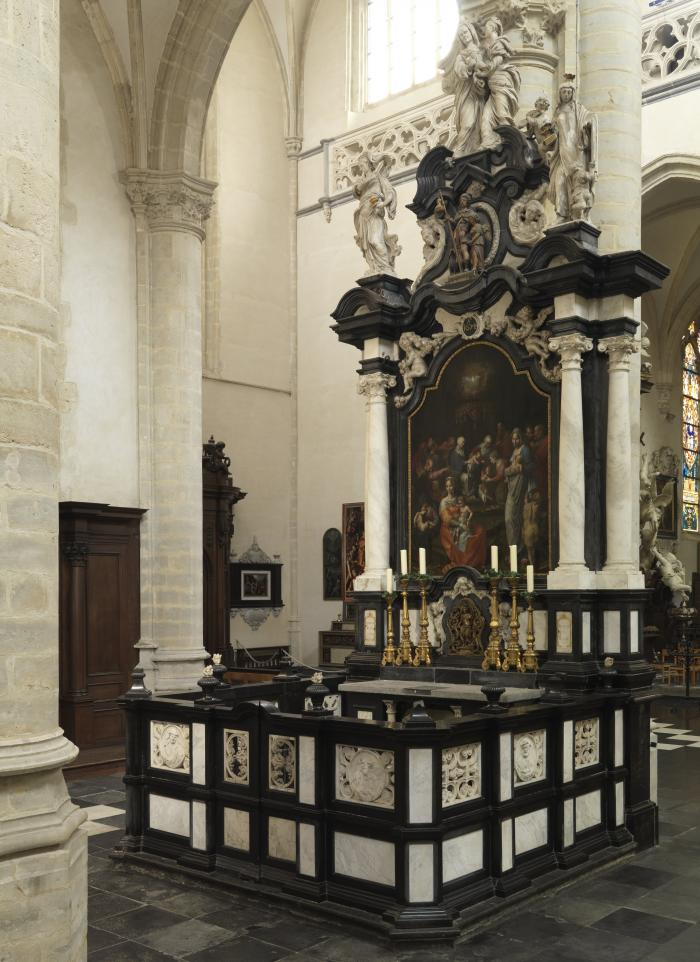 Altar Garden, Saint Andrew's Church, Antwerp.