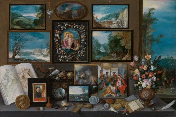 Frans Francken II, A Collection, Royal Museum of Fine Arts, Antwerp.