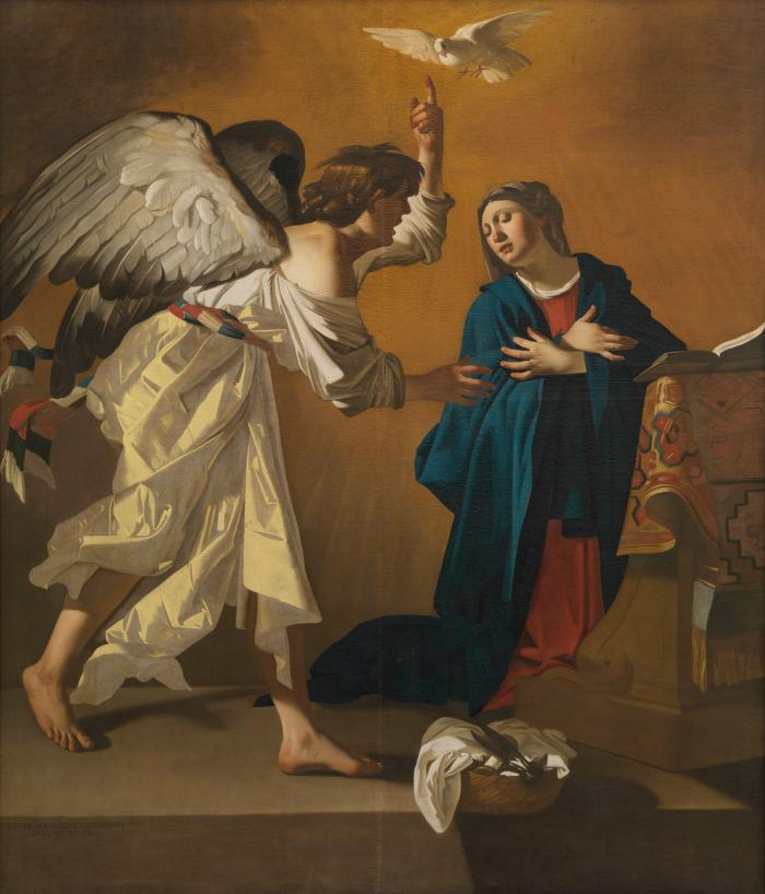 Jan Janssens, The Annunciation, Museum of Fine Arts, Ghent.